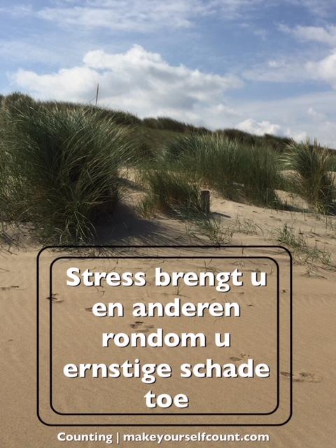 Stress hoort erbij. Echt?